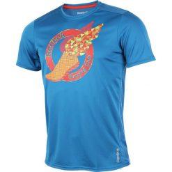 Koszulka do biegania męska REEBOK ESSENTIAL SHORTSLEEVE TEE RC / Z91149. Pomarańczowe koszulki sportowe męskie marki Reebok, z dzianiny, sportowe. Za 85,00 zł.