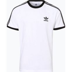 Adidas Originals - T-shirt męski, czarny. Czarne t-shirty męskie adidas Originals, m, z kontrastowym kołnierzykiem. Za 129,95 zł.