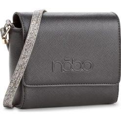 Torebka NOBO - NBAG-D3790-C020 Czarny. Czarne listonoszki damskie Nobo, ze skóry ekologicznej. W wyprzedaży za 109,00 zł.