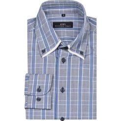 Koszula ABRAMO slim 13-10-09. Białe koszule męskie slim Giacomo Conti, m, z bawełny, button down. Za 229,00 zł.