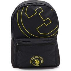 Plecaki damskie: Plecak w kolorze czarno-żółtym - (S)33 x (W)45 x (G)16 cm