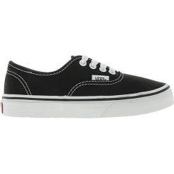 Vans - Tenisówki dziecięce AUTHENTIC. Szare buty sportowe chłopięce marki Vans, z aplikacjami, z gumy. W wyprzedaży za 159,90 zł.