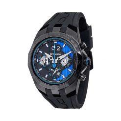 """Zegarki męskie: Zegarek """"DT-YG103-B"""" w kolorze czarno-niebieskim"""