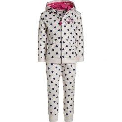 Bluzy chłopięce: mothercare POLKA DOT HOODIE SET  Bluza rozpinana white