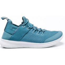 Nike - Buty Free Free RN 2017. Niebieskie buty do fitnessu damskie marki Nike, z materiału. W wyprzedaży za 239,90 zł.