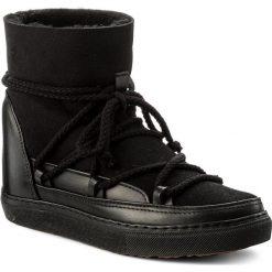 Buty INUIKII - Sneaker Wedge Classic 30100 Black. Czarne botki damskie na obcasie marki Inuikii, ze skóry. W wyprzedaży za 569,00 zł.