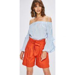 Haily's - Bluzka. Szare bluzki z odkrytymi ramionami Haily's, l, z bawełny. W wyprzedaży za 69,90 zł.
