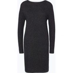 Sukienki: Franco Callegari - Damska sukienka ze swetrem, szary