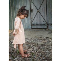 Sukienki dziewczęce z falbanami: SUKIENKA LILI puder