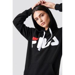 FILA Bluza z kapturem Classic Logo - Black. Czarne bluzy rozpinane damskie Fila, s, z nadrukiem, z długim rękawem, długie, z kapturem. Za 242,95 zł.