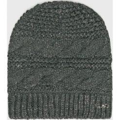 Liu Jo - Czapka. Szare czapki zimowe damskie Liu Jo, z dzianiny. Za 179,90 zł.