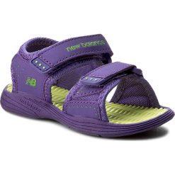 Sandały dziewczęce: Sandały NEW BALANCE – K2004PLM  Purple/Lime