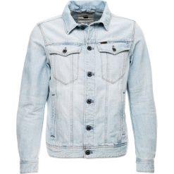 GStar 3301 DECONSTRUCTED 3D SLIM JKT Kurtka jeansowa sato denim/light aged. Białe kurtki męskie jeansowe marki G-Star, z nadrukiem. Za 699,00 zł.