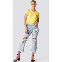 Spodnie damskie: MANGO Jeansy Bella - Blue