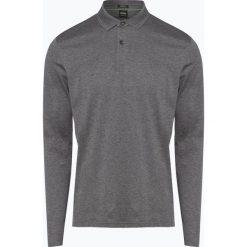 BOSS Athleisurewear - Męska koszulka polo – Pirol, szary. Szare koszulki polo BOSS Athleisurewear, m, z długim rękawem. Za 429,95 zł.
