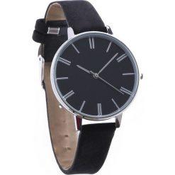 Biżuteria i zegarki: Czarny Zegarek Plain