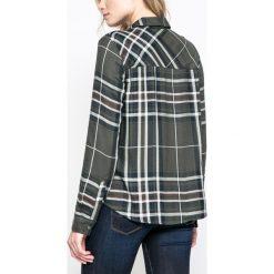 Only - Koszula Odette. Szare koszule damskie w kratkę marki ONLY, s, z bawełny, casualowe, z okrągłym kołnierzem. W wyprzedaży za 79,90 zł.