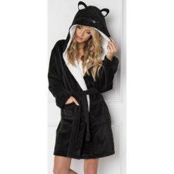 Damski szlafrok Cat Woman. Czarne szlafroki kimona damskie Astratex. Za 136,99 zł.