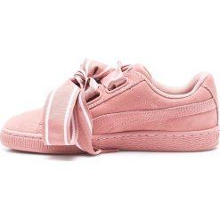 Puma - Buty Suede Heart Satin II Wn's. Różowe buty sportowe damskie marki Puma, z gumy. W wyprzedaży za 359,90 zł.