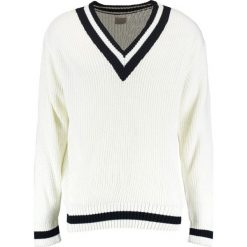 Swetry męskie: Topman CRICKET Sweter cream