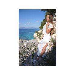Długa czarna koronkowa spódnica Long Legs. Białe długie spódnice WOW, l, z koronki, biznesowe. Za 180,00 zł.