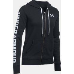 Bluzy sportowe damskie: Under Armour Bluza damska Favorite Fleece Full Zip Hoodie bordowa r. S (1302361-916)