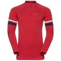 Odlo Bluza Odlo Midlayer 1/2 zip ASLAUG                  - 530052 - 530052/30284/L. Czerwone bluzy sportowe damskie Odlo, l. Za 318,15 zł.