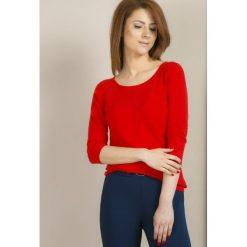 Swetry klasyczne damskie: Sweter z prążkowanymi rękawami II