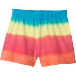 """Odzież dziecięca: Szorty """"dip dye"""" bonprix błękit laguny - jasna limonka -łososiowo-jasnoróżowy"""