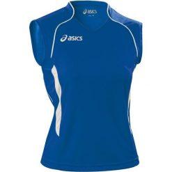 Asics Koszulka damska Aruba niebieska r. XL (T603Z1.4301). Niebieskie topy sportowe damskie Asics, xl. Za 69,00 zł.