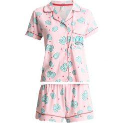 Piżamy damskie: Chelsea Peers VALENTINES AVOCADO CUDDLE SET Piżama rose