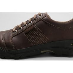 Keen AUSTIN Obuwie hikingowe chocolate brown. Brązowe buty skate męskie marki Keen, z gumy, outdoorowe. W wyprzedaży za 344,25 zł.