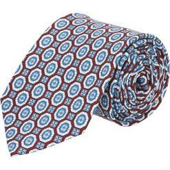 Krawat platinum bordo classic 240. Niebieskie krawaty męskie Recman. Za 49,00 zł.