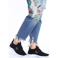 Buty sportowe damskie: Czarne Buty Sportowe Pere