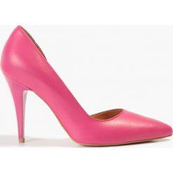 Buty ślubne damskie: Czółenka różowe