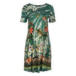Sukienki: Desigual Sukienka Damska Eleonor M Zielony