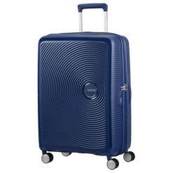 Walizka Soundbox 67/24 TSA EXP midnight navy (32G-41-002). Niebieskie walizki marki American Tourister. Za 357,77 zł.