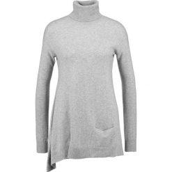Stefanel Sweter grey. Szare swetry klasyczne damskie Stefanel, s, z kaszmiru. W wyprzedaży za 615,60 zł.
