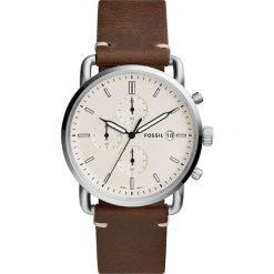 Fossil - Zegarek FS5402. Różowe zegarki męskie marki Fossil, szklane. Za 469,90 zł.