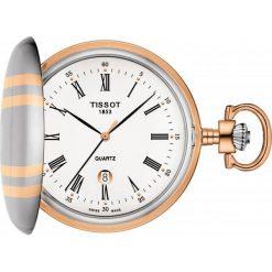 PROMOCJA ZEGAREK TISSOT Savonnette Quartz T862.410.29.013.00. Białe zegarki męskie marki W.KRUK, z mosiądzu. W wyprzedaży za 1073,60 zł.