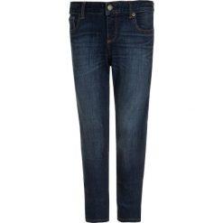GAP Jeans Skinny Fit dark wash. Niebieskie rurki damskie GAP, z bawełny. Za 139,00 zł.