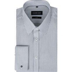 Koszula SIMONE KDWS000280. Szare koszule męskie na spinki Giacomo Conti, m, z bawełny. Za 229,00 zł.