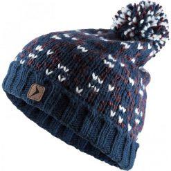 Czapka damska CAD612 - ciemny granat - Outhorn. Szare czapki zimowe damskie Outhorn, na jesień, z polaru. W wyprzedaży za 24,99 zł.