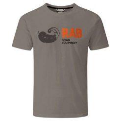RAB Koszulka Męska Stance Tee Grey Marl 2 r. L (QBT-91-GY). Szare t-shirty męskie RAB, l. Za 132,96 zł.