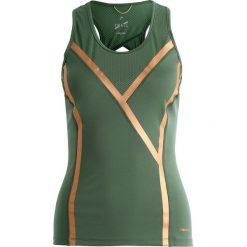 Head Koszulka sportowa green. Zielone topy sportowe damskie Head, l, z elastanu. W wyprzedaży za 237,30 zł.
