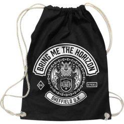 Torebki i plecaki damskie: Bring Me The Horizon Chained Bat Torba treningowa czarny