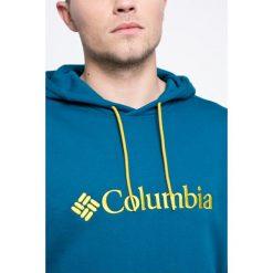 Columbia - Bluza Basic Logo II Hoodie. Brązowe bluzy męskie rozpinane marki SOLOGNAC, m, z elastanu. Za 259,90 zł.