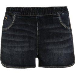 Abercrombie & Fitch Szorty jeansowe dark wash. Niebieskie szorty jeansowe damskie marki Abercrombie & Fitch. W wyprzedaży za 125,30 zł.