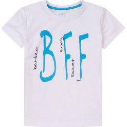 Endo - T-shirt dziecięcy 104-128 cm. Szare t-shirty chłopięce z nadrukiem marki Endo, z bawełny, z okrągłym kołnierzem. W wyprzedaży za 29,90 zł.