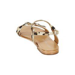 Sandały Petite Mendigote  LUCON. Brązowe rzymianki damskie Petite Mendigote. Za 439,20 zł.
